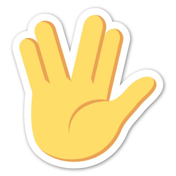 Hand emoji